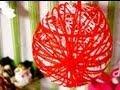 Jak zrobić bombki na choinkę z balona i sznurka? #09