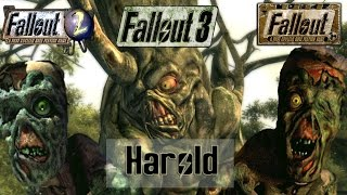 Harold, Through the Ages (Fallout, Fallout 2 & Fallout 3)