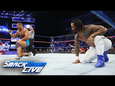Jason Jordan vs. Jey Uso: SmackDown LIVE, Oct. 4, 2016
