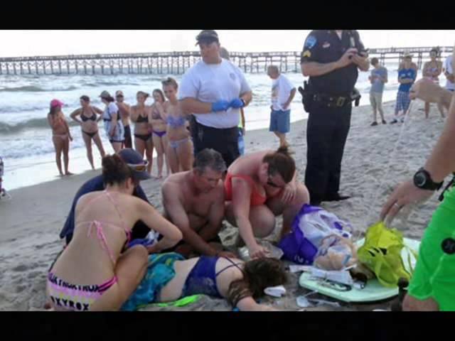 Shark Attack In North Carolina Island Resort