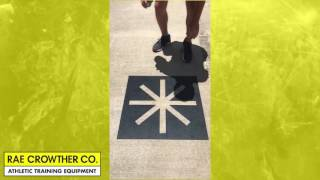 Sports Training Agility Stencils | Rae Crowther