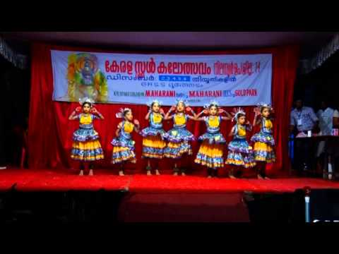 Kerala School Kalolsavam First Prize In Group Dance Up School Section.g H S S Nilambur(rinsha Group) video