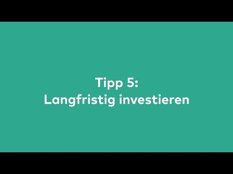 #19 Tipp 5: Langfristig investieren