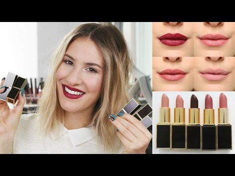 TOM FORD LIPSTICK REVIEW - Are They Worth The Hype?!   JamiePaigeBeauty