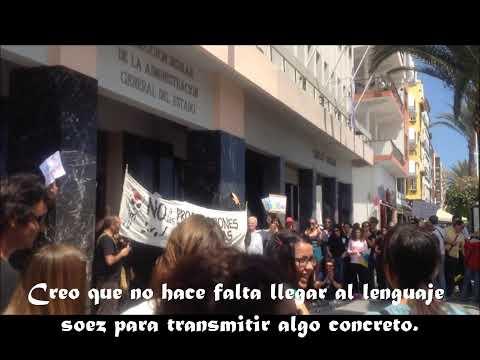 Manifestación en La Palma contra las prospecciones petrolíferas en Lanzarote y Fuerteventura