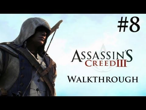 Assassin's Creed 3 - Walkthrough/Gameplay - Part 8 [Sequence 2] (XBOX 360/PS3/PC)