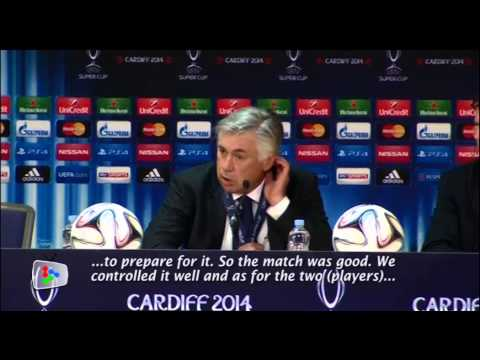 Real Madrid controls the game well, says Ancelotti