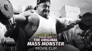 Dorian Yates: The Original Mass Monster MOVIE CLIP | Inside The Hardcore Dungeon That Was Temple Gym