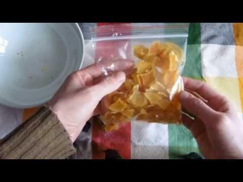 Как сушить картошку в поход или в поездки