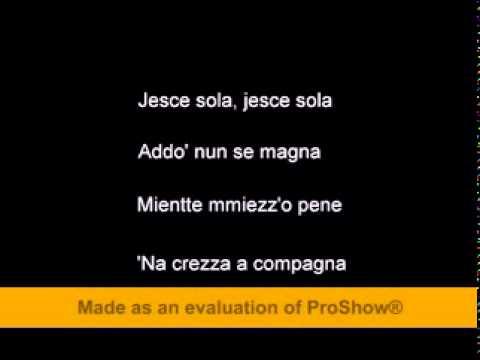Nino D Angelo jesce sole (cu subtitrare)