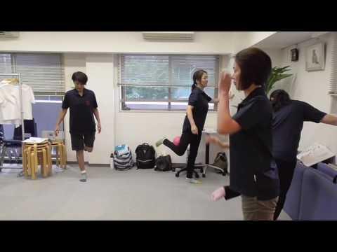 骨盤ボール バランストレーニング 清水 マッサージスクール日本ボディーケア学院