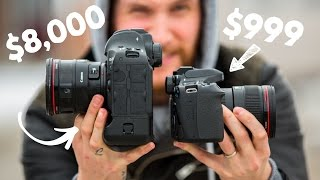 $1,000 Camera VS $8,000 Camera!!