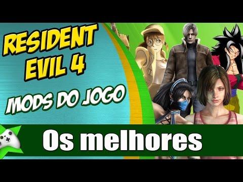 Os Melhores MODS do jogo PARTE 2 Resident Evil 4