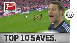 Top 10 Saves - 2014/15
