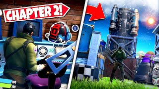 *NEW* PLAYERS FIND THE VISITORS *HELMET* EASTER EGG IN CHAPTER 2! (Battle Royale)