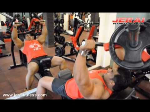 Incline Bench Press Machine Youtube Incline Bench Press by Sangram