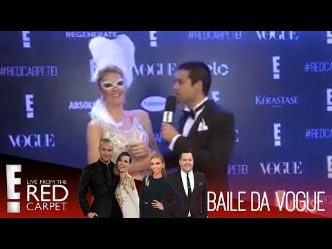 #RedCarpetE!   Baile da Vogue 2015 - Ana Hickmann