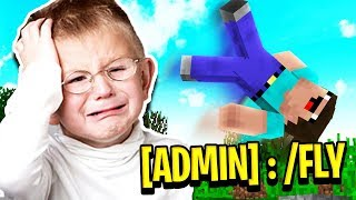 10 YEAR OLD TROLLED BY ADMIN!