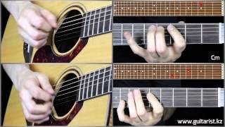 Coolio Gangsta s paradise acoustic cover lesson Guitarist kz