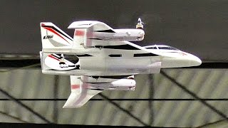 "BRAND NEW RC VTOL AIRCRAFT ""CONVERGENCE"" AMAZING MODEL AIRPLANE IS PRESENTED"