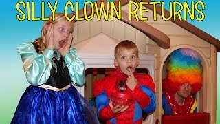 Silly Clown in our Playhouse - Family Fun Pack