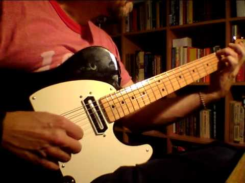 Charlie Christian neck pickup in Tele