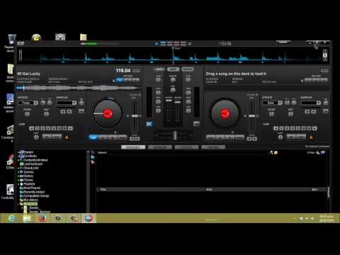 Configuración Del Cmd Studio 4a De Behringer Con El Virtual Dj video