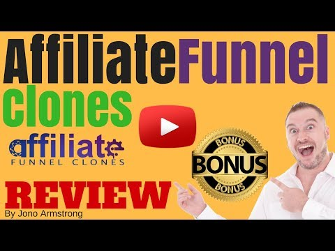Affiliate Funnel Clones Review, [WARNING] DON'T GET AFFILIATE FUNNEL WITHOUT MY **CUSTOM** BONUSES!