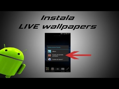 Como instalar live wallpapers en rooms sin esa accion