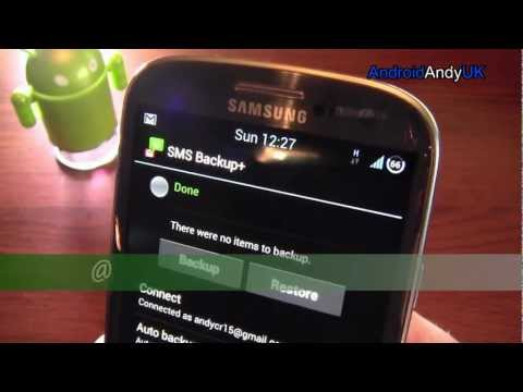 SMS Backup+ Android App Review