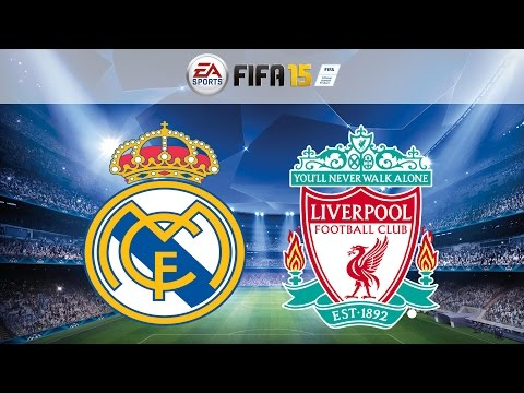 Real Madrid Vs. Liverpool All Goals & Highlights UEFA Champions League Simulation 22/10/2014