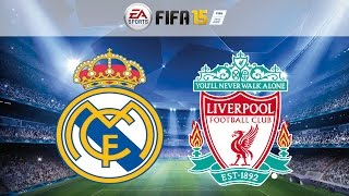 Real Madrid Vs. Liverpool All Goals & Highlights UEFA Champions League (FIFA 15) 22/10/2014