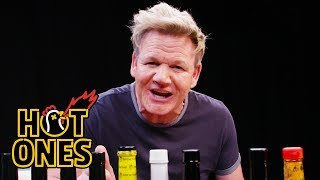Sean's Gordon Ramsay Nightmare | Hot Ones