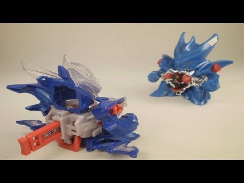Cross Fight B-Daman - Battle #3 - Rising=Dracyan vs. Accele=Dracyan