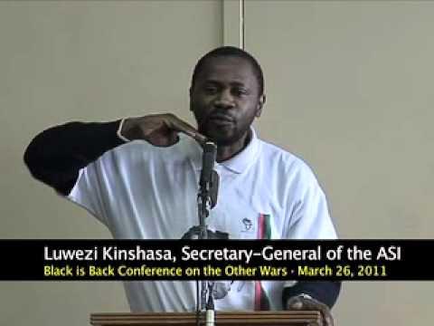 The Permanent War Against Africa - Luwezi Kinshasa At BIB Conference