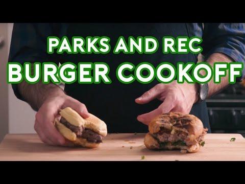 Binging with Babish: Parks & Rec Burger Cookoff