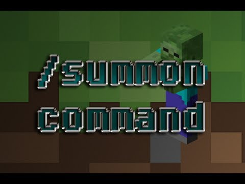 Minecraft: /summon command - attributes, potion effects, equipment , etc.