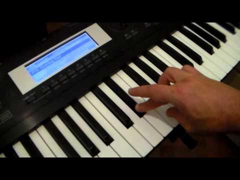 C minor Scale and Chord / Escala de Dó Menor (Keyboard/Piano Tutorial)