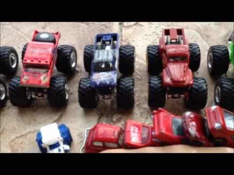 HOTWHEELS MONSTER JAM JUMP ROUND 1 Music Videos