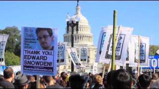 Protesters Tell U.S. Government to Stop Snooping  10/27/13
