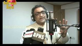Kunal Ganjawala at Song Recording for the film 'Racket' Part  1