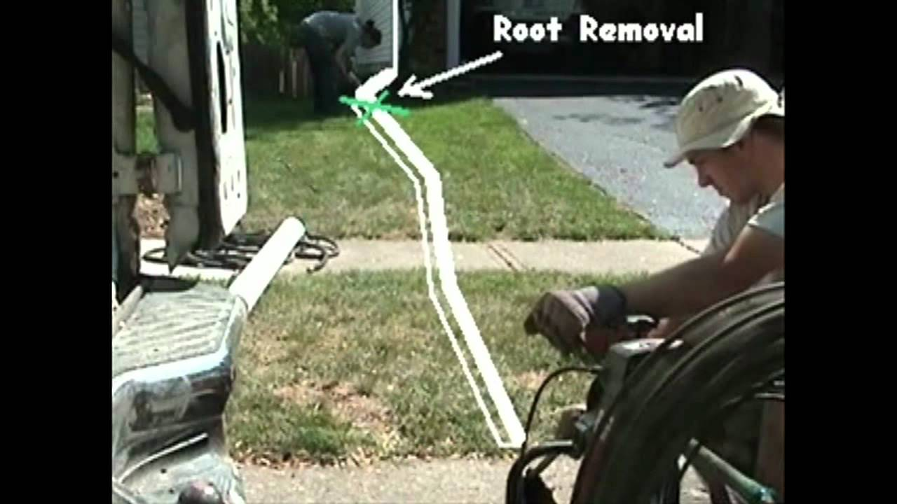 Atlantic Drain Root Extraction Downspout Drain Line