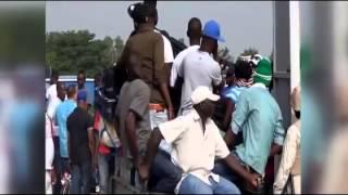 VIDEO: Haitiens ap kouri kite Saint Domingue ak tout sa yo posede, Gade...