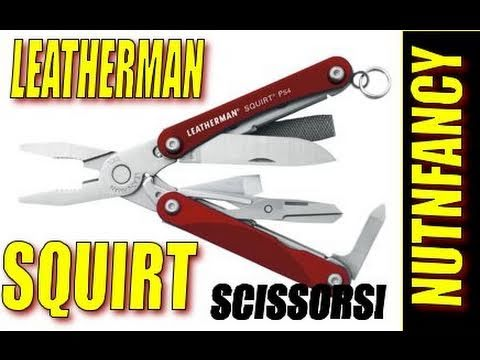 Leatherman Squirt Ps4 es4: thumb-sized Toolchest By Nutnfancy video