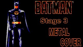 Batman- Stage 3 (NES) Metal Cover