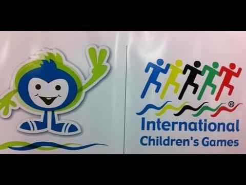 ICG Windsor-essex closing ceremony march (International Children's Games 2013)