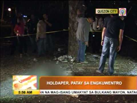 Alleged robber shot dead in QC