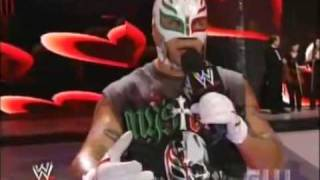 [WWE] Rey Mysterio kills Edge's wedding proposal to Vickie