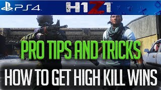 H1Z1 PS4 ULTIMATE GUIDE TO HIGH KILL AND CONSISTENT WINS! H1Z1 PS4 OFFICIAL LAUNCH! #H1Z1PS4 #H1Z1