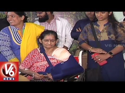 Gandhi Hospital Doctors Peforms Complicated Shoulder Surgery For 70 Year Old Woman | Hyderabad | V6